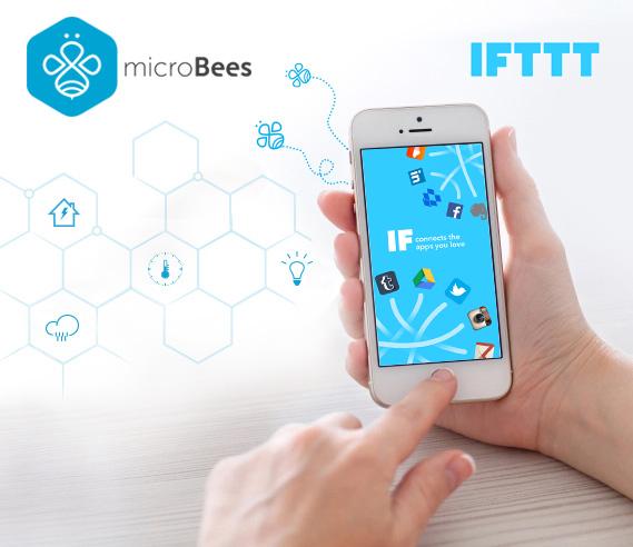 microBees & IFTTT
